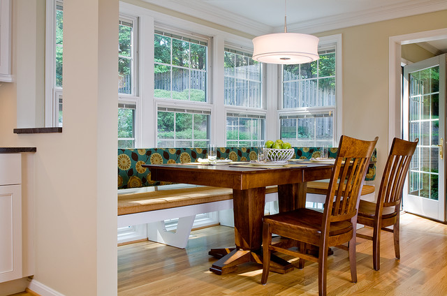Breakfast room addition and renovation contemporary for Houzz dining rooms contemporary