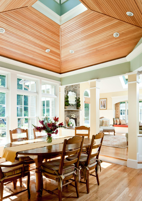 Breakfast room addition traditional dining room other by howell custom building group - Dining room additions ...