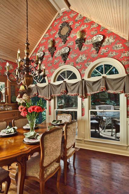 breakfast room macon ga traditional dining room atlanta by valerie garrett interior design. Black Bedroom Furniture Sets. Home Design Ideas