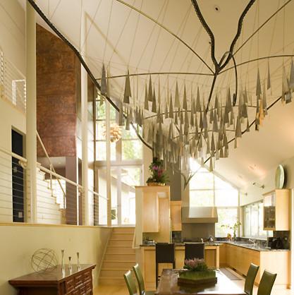 breakfast room contemporary-dining-room