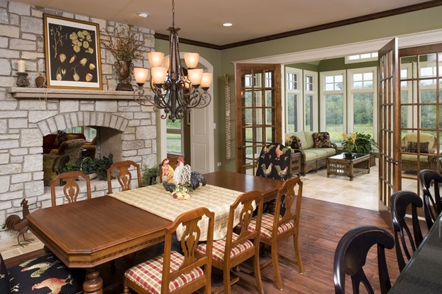 Breakfast Room Traditional Dining Room Chicago By Rigsby Builders Inc