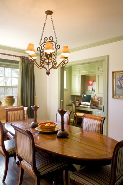 Breakfast Room | study nook traditional-dining-room