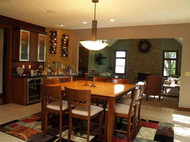 BRECKSVILLE contemporary-dining-room