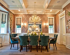 Breezy Brentwood traditional-dining-room