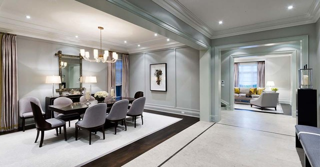 Brian Gluckstein   2013 Princess Margaret Lottery   Oakville Showhome  Contemporary Dining Room