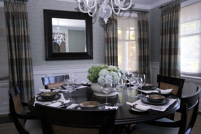 Bridgehampton classic beach style dining room new for New york style interior