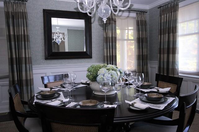 Bridgehampton classic beach style dining room new - Decoration style new york ...