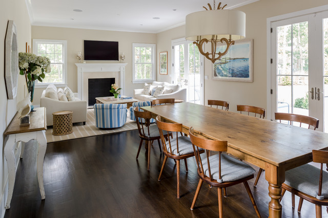 home beach style dining room new york by shannon willey