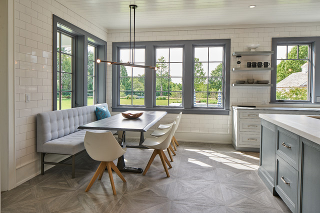 Bridgehampton transitional-dining-room