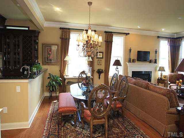 Brier Creek Home traditional dining room