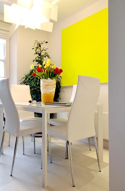 Bright DIning contemporary-dining-room
