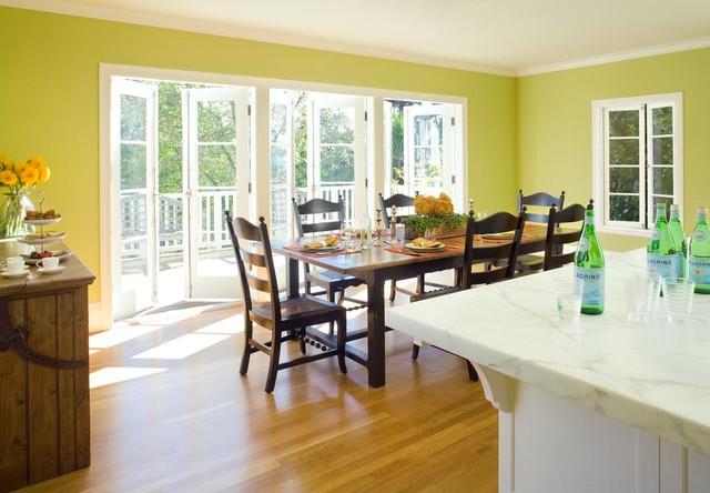 Bright, Sunny Kitchen & Dining Renovation traditional-dining-room