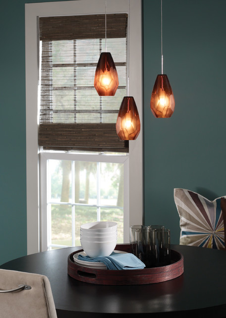 Briollette Pendant by LBL contemporary-dining-room