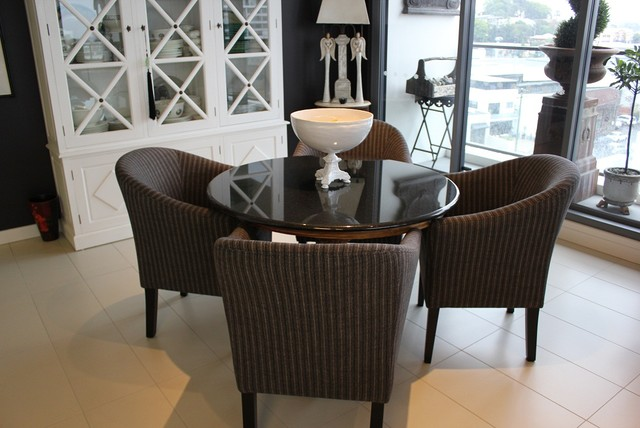 brisbane river penthouse traditional dining room brisbane by