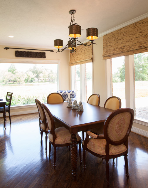 colonial dining rooms | British Colonial - Traditional - Dining Room - houston ...