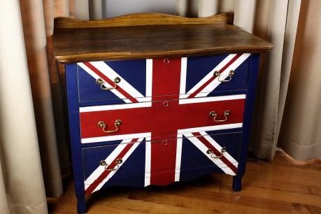british flag furniture. british flag inspired decoration eclecticdiningroom british flag furniture