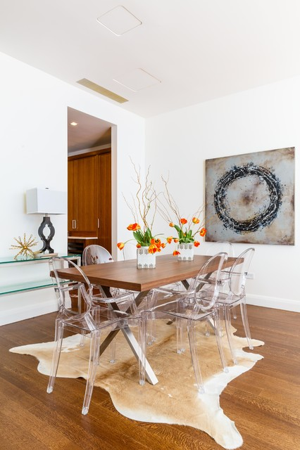 Brook Furniture Rental Charles St Contemporary Dining Room
