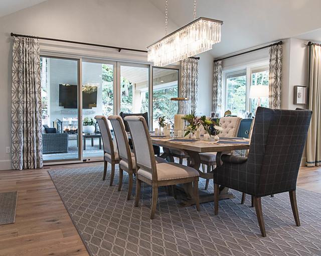 Brook Lane Remodel craftsman-dining-room