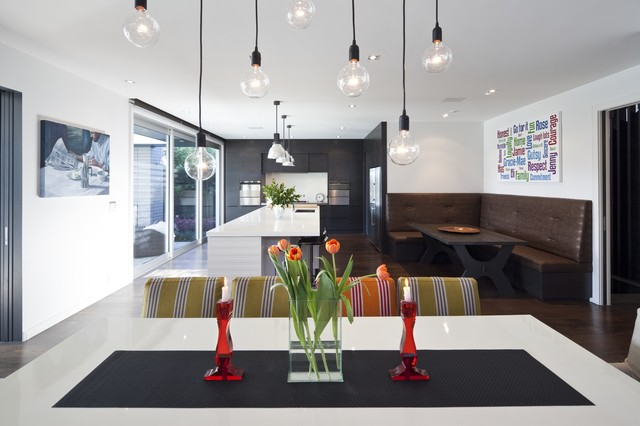 contemporary dining room by jessop  architects
