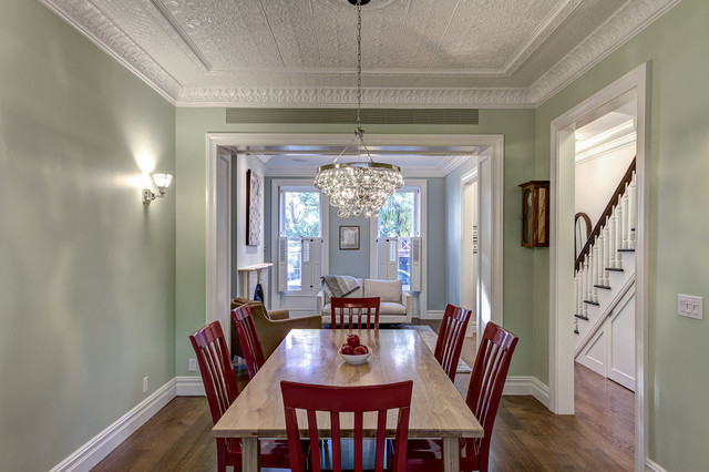 brooklyn townhouse traditional dining room new york