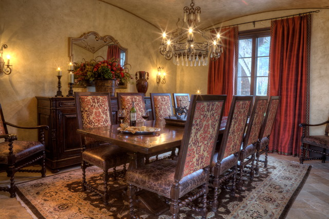 Brosseau Rose Residence traditional-dining-room