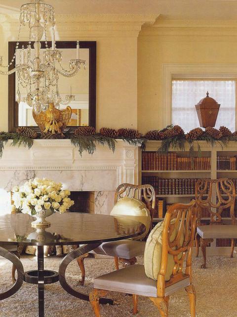 Brown Davis Interiors, Inc. traditional-dining-room