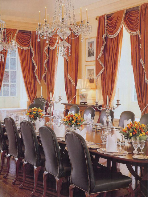 Brown Davis Interiors, Inc. traditional-dining-room