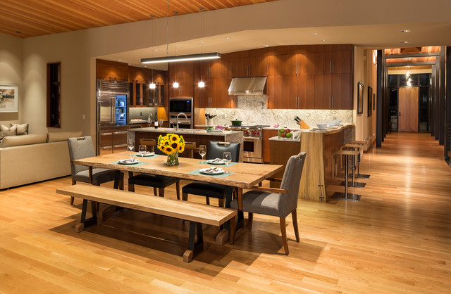 Browns Point WA Contemporary Dining Room Seattle By Madera Furniture