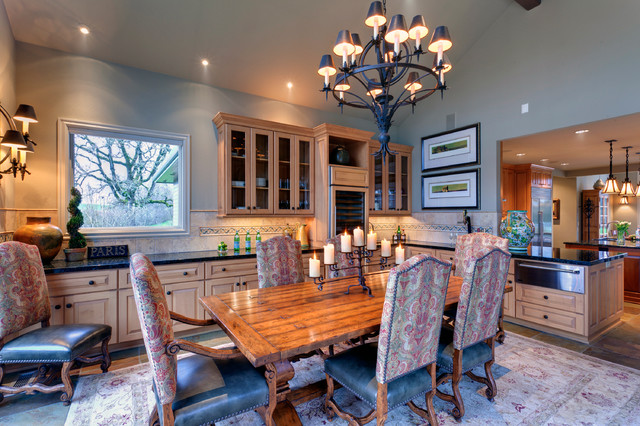 Bruce Home traditional-dining-room