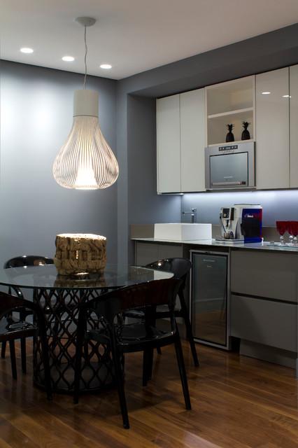 Bruno Senna 's loft modern-dining-room