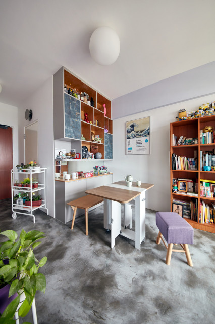 Houzz Tour 2 Room Hdb Flat Is Arty And Characterful