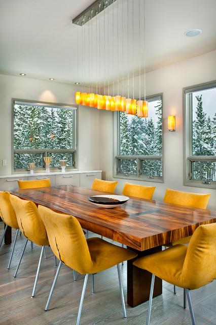 Buckhead Client S Ski Retreat Dining Roomcontemporary Room Atlanta