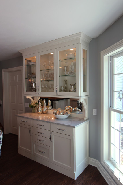 built in dining room hutch transitional dining room other by
