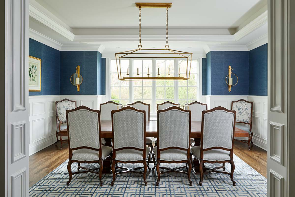 75 Beautiful Wallpaper Dining Room Pictures Ideas August 2021 Houzz