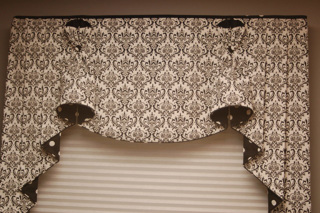BUNNY NO EARS Hidden Rod Pocket valances - Traditional - Dining Room ...