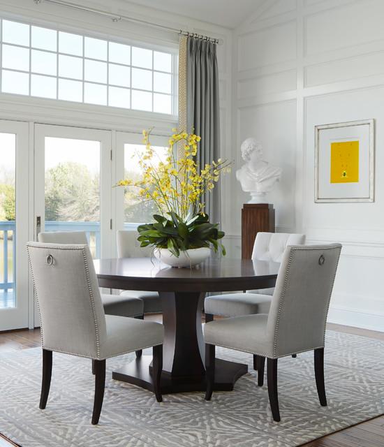 burr ridge residence classique chic salle manger chicago par donna michelle interiors. Black Bedroom Furniture Sets. Home Design Ideas