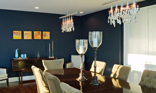 Busybee Design contemporary dining room
