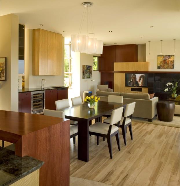 Butternut Residence contemporary-dining-room