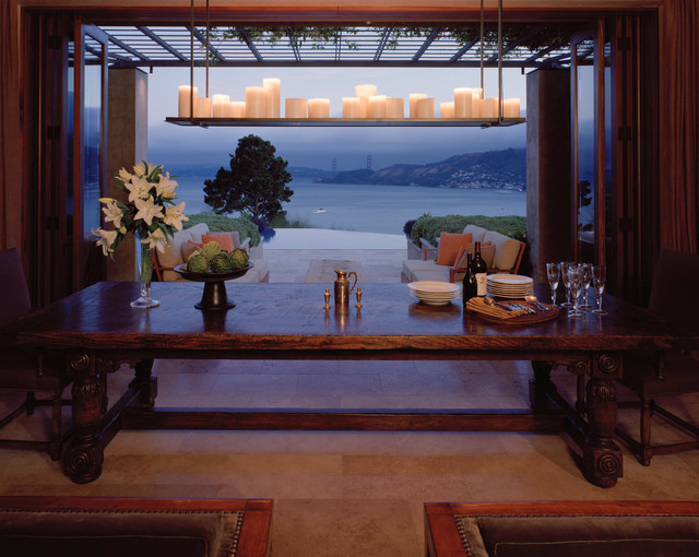 Buttrick Wong Architects mediterranean-dining-room