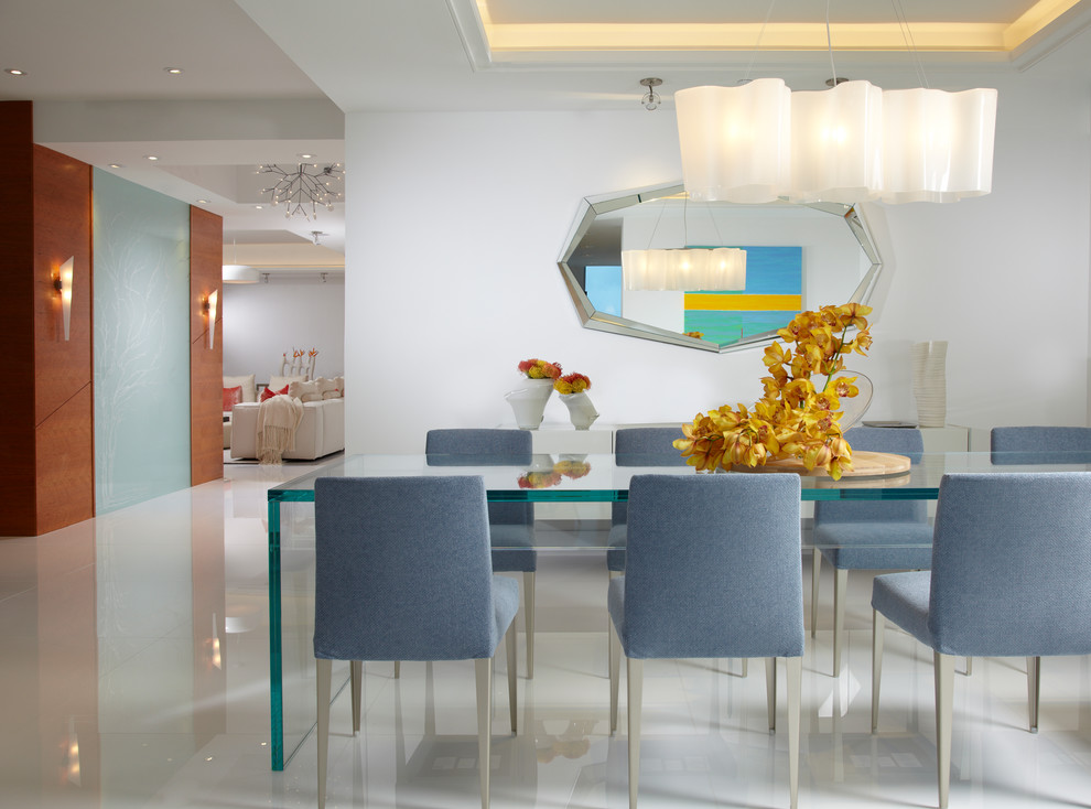 Interior Designers Miami Modern, Modern Dining Room Furniture Miami Beach