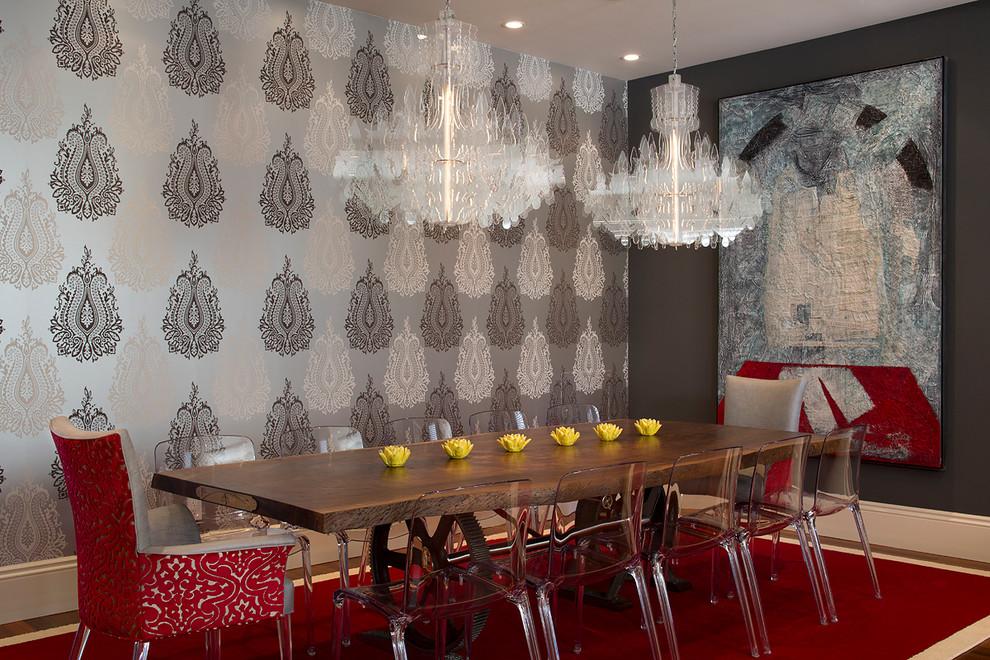 Dining room - contemporary dining room idea in San Francisco