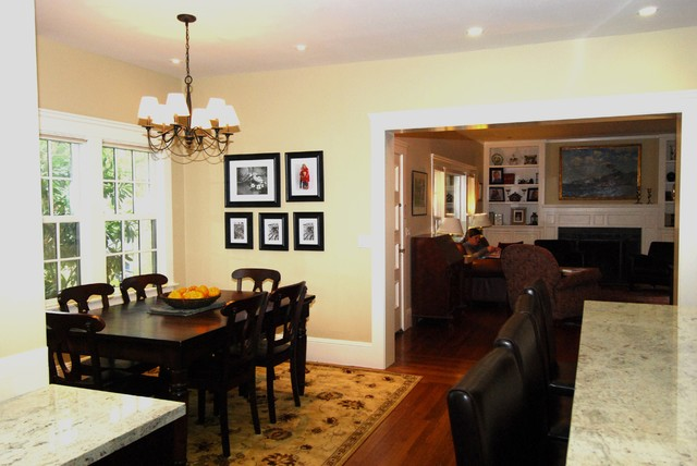 Byron St. traditional-dining-room