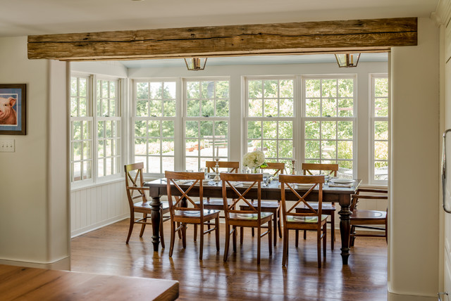 Ordinaire Sympathetic Addition | Kennett Square, PA Farmhouse Dining Room