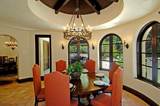 Calabasas Estate mediterranean-dining-room