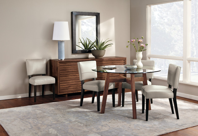 cale dining table roomr&b - modern - dining room - minneapolis ...