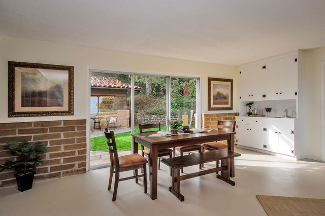 California Adobe traditional-dining-room
