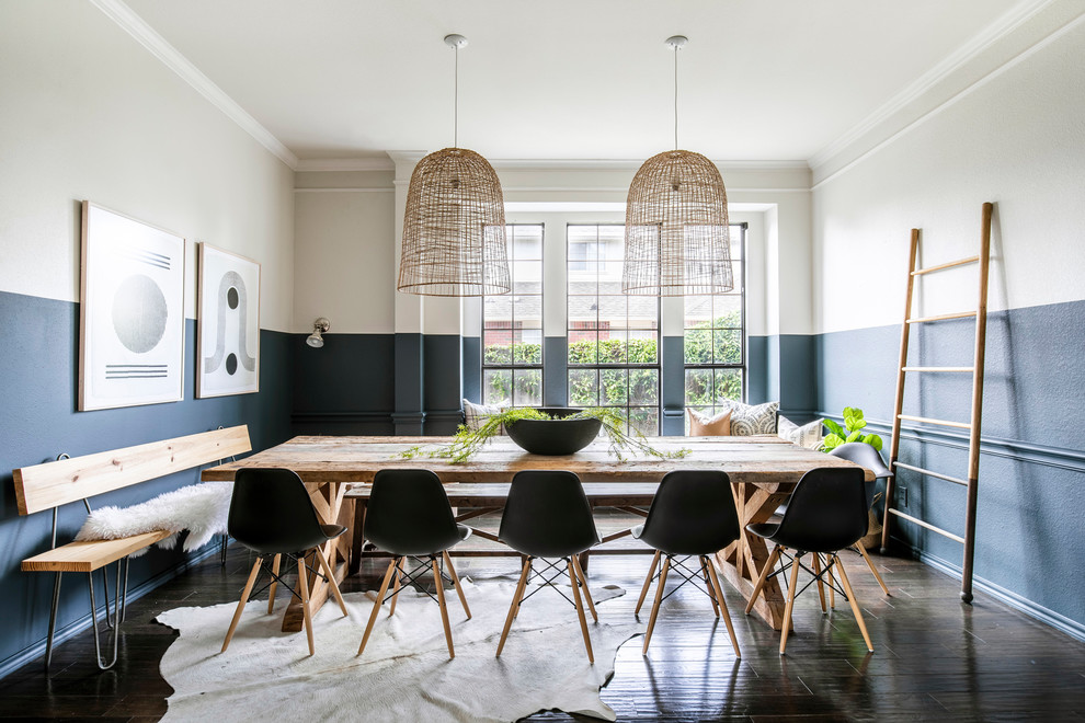 California Casual Beach Style Dining Room Dallas By Urbanology Designs