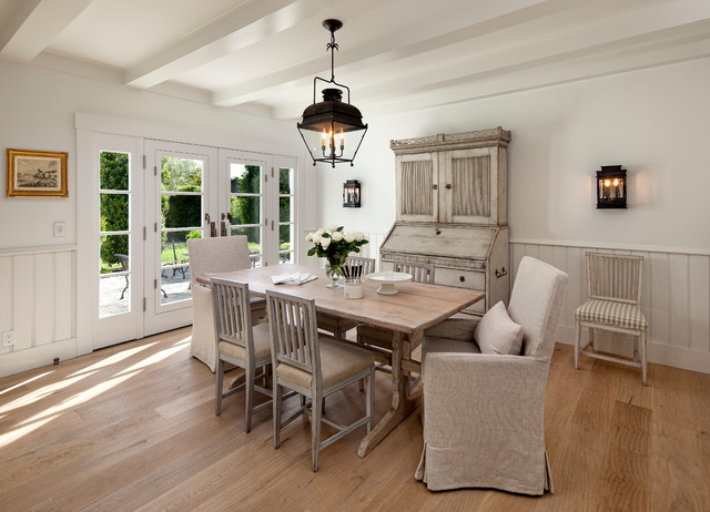 California Cottage country-dining-room
