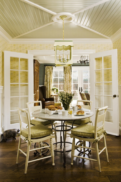 California Cottage Traditional Dining Room San