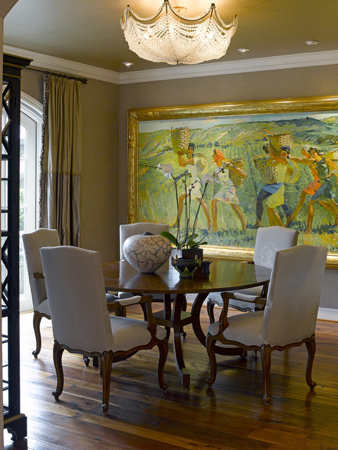 Traditional Dining Room Walls, Dining Room Paintings